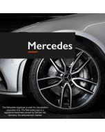 Fälglås till Mercedes fälgar Rimgard 4-pack Svart