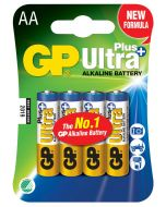 Engångsbatteri GP Ultra Plus AA / LR6 4-pack