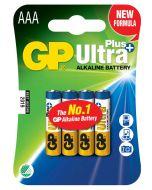 Engångsbatteri GP Ultra Plus AAA / LR03 4-pack