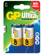 Engångsbatteri GP Ultra Plus C / LR14 2-pack