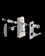 Komplett låspaket till villadörrar
