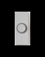 Tryckknapp till trådbundna dörrklockor Honeywell D534 Lightspot Vit