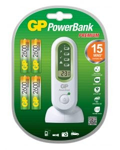 Batteriladdare GP PowerBank V800 C - Super snabb
