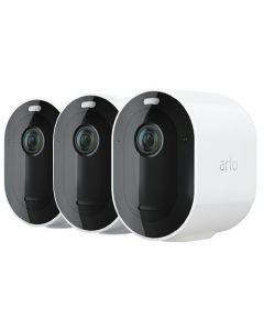 Trådlöst videoövervakningssystem Arlo Pro 4 - Startpaket med 3 kameror