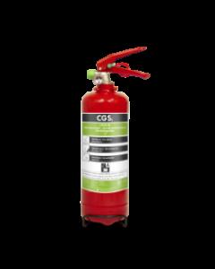 Lithium / AVD brandsläckare 2 liter Housegard