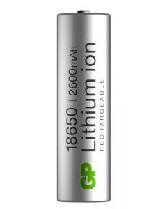 Batteri till ficklampor och pannlampor 18650 GP Batteries
