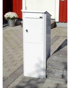 Låsbar postlåda Biggi Original - Tömningslucka fram