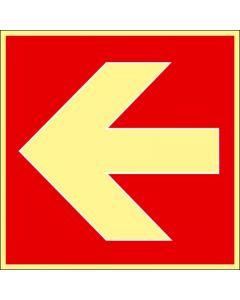 Brandpil höger / vänster