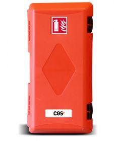 Brandsläckarskåp CGS PRO för 6 kg släckare