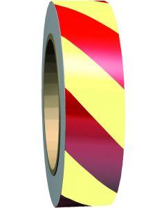 Efterlysande markeringstejp GlowLite™ Nova - Gul / Röd
