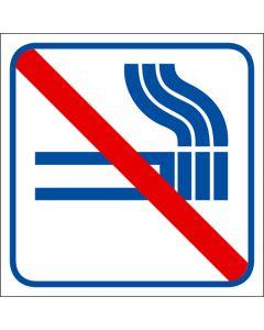 """Skylt """"Rökning förbjuden"""" 5-pack"""