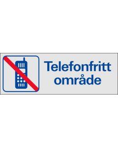 Telefonfritt område