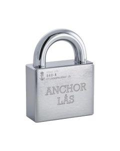 Hänglås Anchor 840-4 HB27 Klass 4 för oval låscylinder