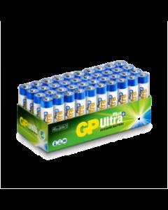Engångsbatteri GP Ultra Plus AAA /  LR03 - 40-pack