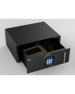 Värdeförvaringsskåp MBG NOVA med utdragbar låda LED