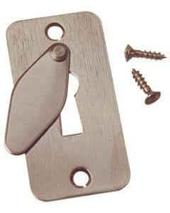 Nyckelskylt till tillhållarlås med lock ASSA 5334 Krom