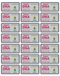 "Minidekaler ""SmartDNA Protection"" - 21 styck"