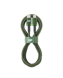 Premium USB-kabel GP - USB-A till Apple Lightning