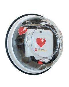 Väggskåp till defibrillator Rotaid Plus med larm